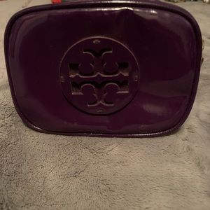Tori Birch purple makeup case